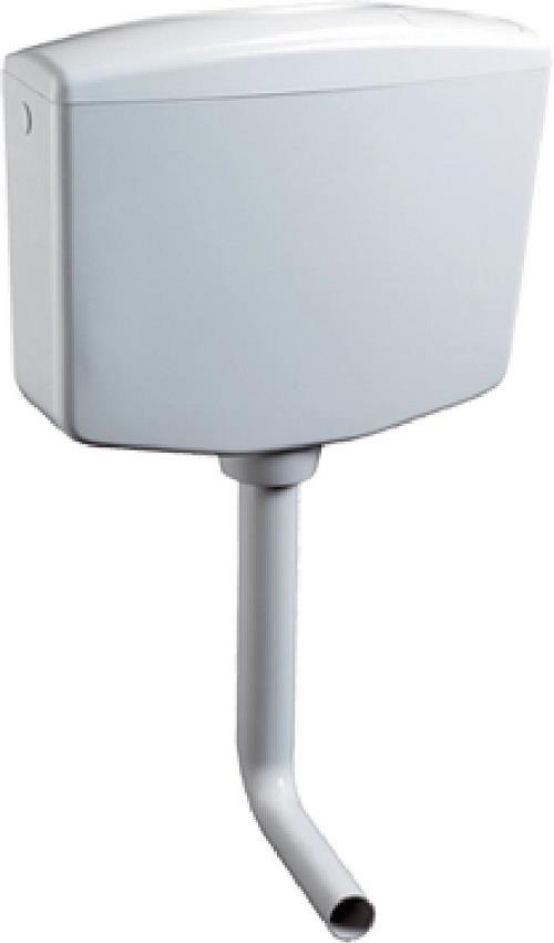 Cassetta di scarico vaso wc esterna zaino con tubo hivory - Cassetta scarico wc esterna montaggio ...