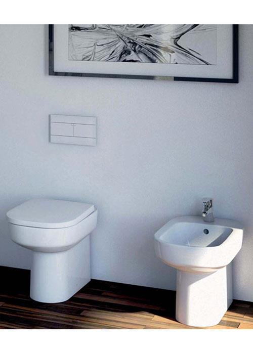 Sanitari a terra filo muro cristallo dolomite vaso wc for Sanitari dolomite