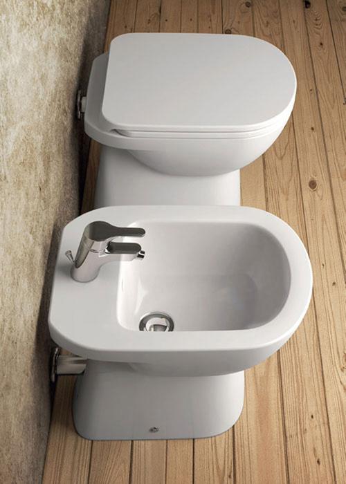 Sanitari a terra gemma 2 dolomite vaso wc bidet sedile assicurazione ebay - Sanitari bagno dolomite prezzi ...