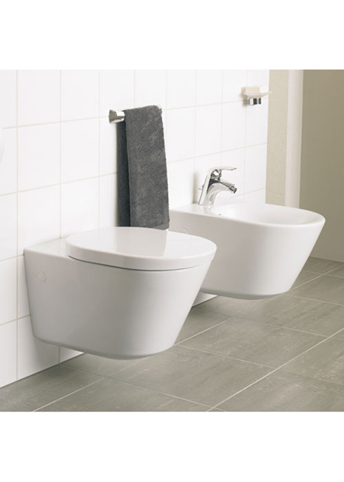 sanitari sospesi filo muro tonic ideal standard vaso wc bidet sedile assicurazio ebay. Black Bedroom Furniture Sets. Home Design Ideas