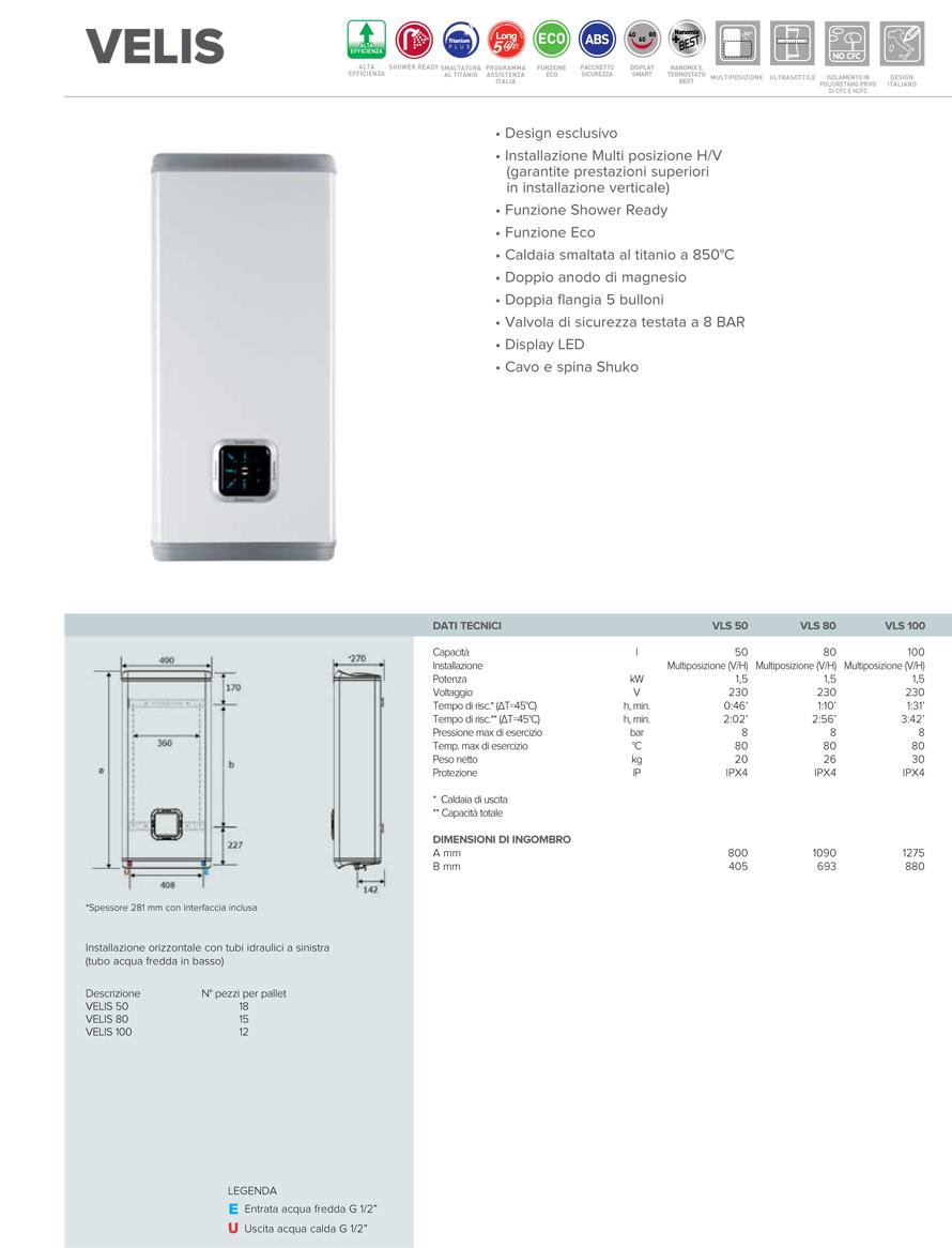 Scaldabagno elettrico 80 litri classe a offerte et deal su onde culturali for Scaldabagno elettrico ad accumulo