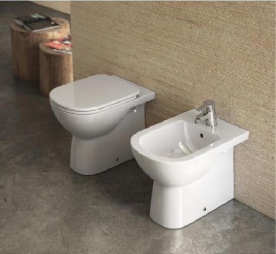 Ceramica Dolomite Gemma 2.Dettagli Su Sanitari A Terra Filo Muro Gemma 2 Dolomite Vaso Wc Bidet Sedile Assicurazione