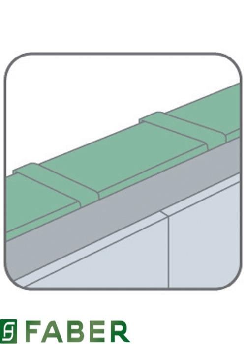 Tubo rettangolare per cappa 1500 x 220 x 60 mm faber ebay for Cappa filtrante senza tubo